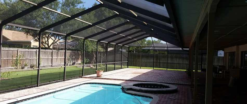 Pool cage repair and replacement services in Plant City, FL.